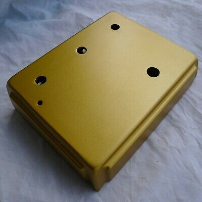 1:1 Diecast Aluminum Overdrive Effects Pedals Project Box Enclosed Case Gold