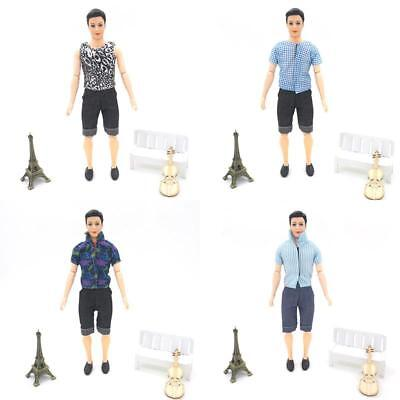 New Handmade T shirt And Pants Clothes Outfit Suit for 29-30cm Doll OC