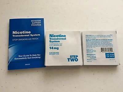Nicotine Transdermal System Step 2 Patches 25 Total Patches 4/2019