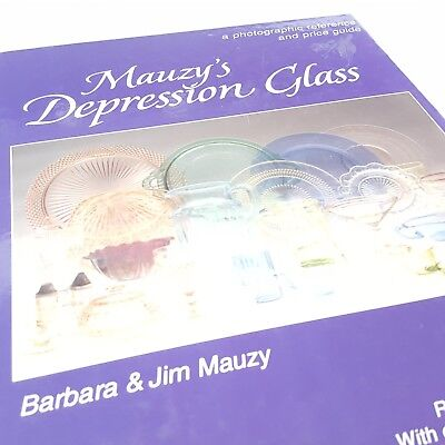 Mauzys Depression Glass Photographic Reference Prices Barbara and Jim Edition 5