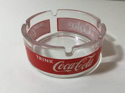 Vintage German Trink Coca Cola Ashtray - Excellent Condition.