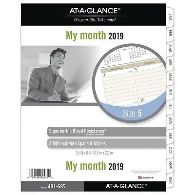 at-A-Glance Day Runner Monthly Planner Refill, January 2019 - December 20... New