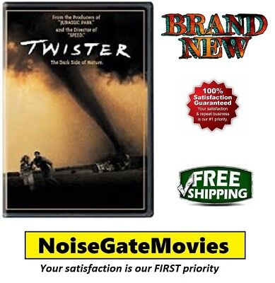 Brand New - Twister (DVD, 2009) Helen Hunt, Bill Paxton - Ships Out Same Day!