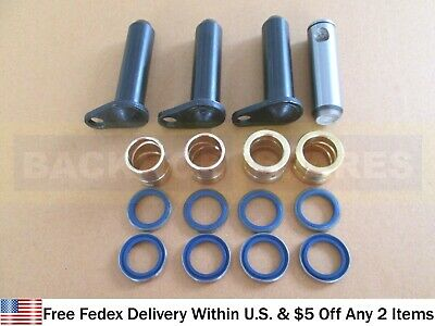 Jcb Parts - Steering Assembly Pins And Bushes W. Seals (Assorted Part No.s)