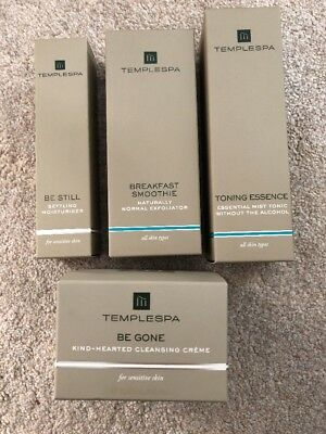 Temple Spa Full Size Products X 4 Was £103