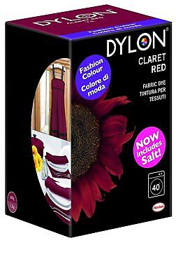 Dylon 350 g Machine Dye, Claret Red - Eco friendly packaging