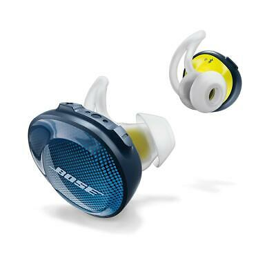 Bose SoundSport Free Wireless In-Ear Headphones, Navy/Citron #774373-0020