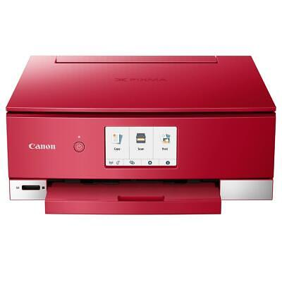 Canon PIXMA TS8220 Wireless Office All-In-One Printer, Red #2987C042