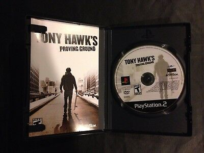 Tony  Hawk's Proving Ground - Play Station 2/PS2 Video Game - Complete & Works