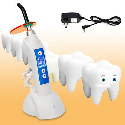 Dental LED.B Wireless Cordless Curing Light LED Curing Lamp1500mw  5W+Charger US