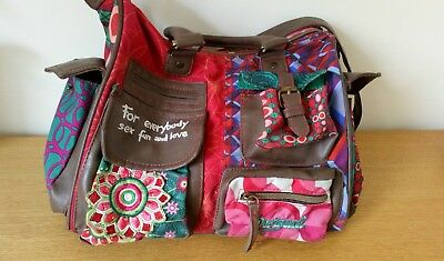 Sac Multicolore Sex Love Bandoulière For Fun And Desigual Everybody 3AjL4qR5