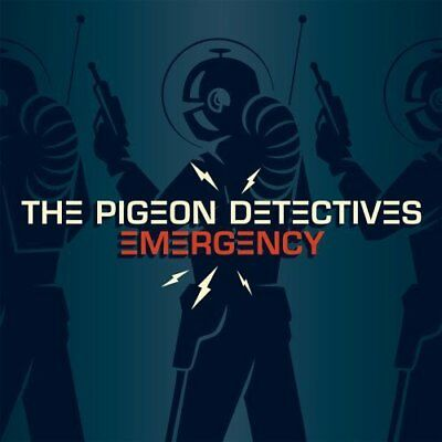 The Pigeon Detectives - Emergency (2008)  CD  NEW  SPEEDYPOST