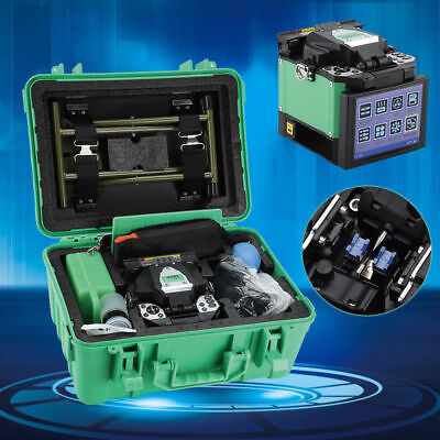 A-80S Fiber Optic Welding Splicing Machine Optical Fiber Fusion Splicer Green UK