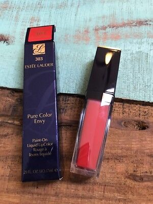 ESTEE LAUDER PAINT-ON LIQUID LIPCOLOR IN #303 Controversial ~NIB~