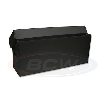 1 x PLASTIC comic storage box.BLACK finish.price match.