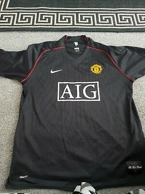 4d1a132a6 MANCHESTER UNITED AWAY Shirt 2017 2018 Brand New with Tags men s ...