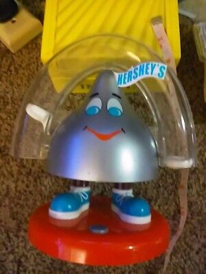 Hershey's Candy Kisses Dispenser Excellent Dated 1999) never used