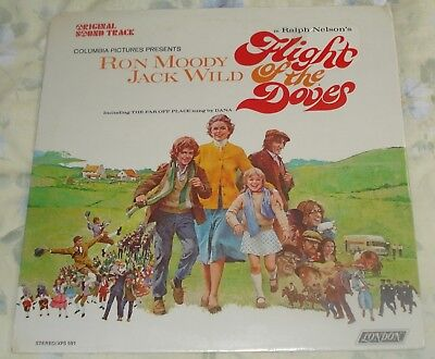 FLIGHT OF THE DOVES (Roy Budd) original factory sealed stereo lp (1971)