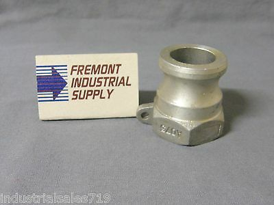 """3/4"""" Camlock Fitting A-075 Cam Lock Cam And Groove Trash Pump Fitting"""
