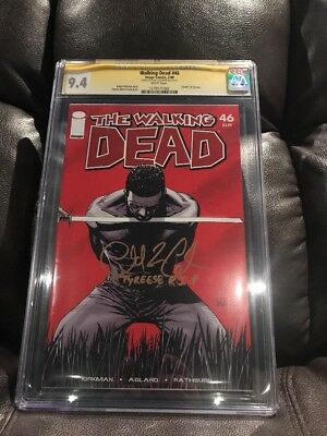 Walking Dead Comic 46 Death Of Tyreese Signed By Chad Coleman!!