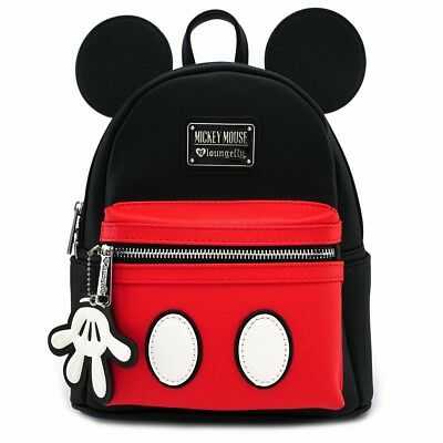 Loungefly - Disney MICKEY MOUSE SUIT Cosplay SAFFIANO Mini Faux Leather Backpack