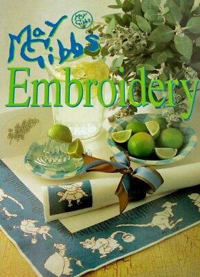 May Gibbs Embroidery ~ Designs by Alison Snepp - Beautiful Australian Patterns