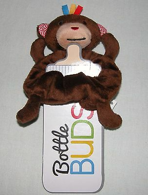 Mud Pie Brown Monkey Bottle Buds Cover New