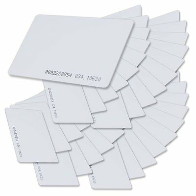 25 x Keycards Proximity Prox Card Works With HID ISOProx 1326 1386 26-Bit H10301