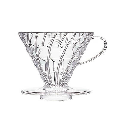 Hario V60 Plastic Dripper - 2 Cup Clear