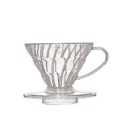 Hario V60 Plastic Dripper - 1 Cup Clear