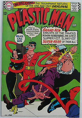 Plastic Man #1 (Nov-Dec 1966, DC), VFN-NM, 1st app of Silver Age Plastic Man