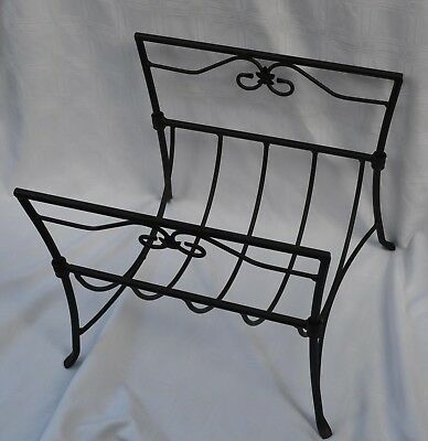 Longaberger 2008 WI WROUGHT IRON Firewood LOG RACK - for Woodstove or Fireplace