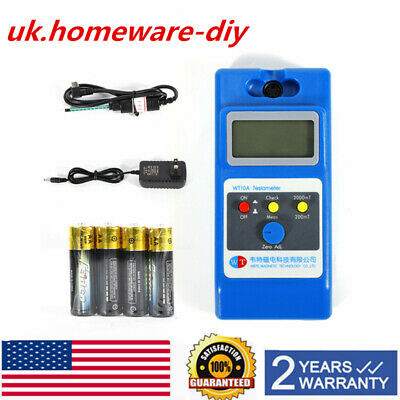 LCD Tesla Meter Magnetic Field Tester Gaussmeters LCD screen Type WT10A Test NEW