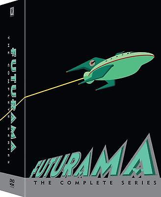 Futurama: The Complete TV Series Collection Seasons 1 2 3 4 5 6 7 8 DVD Box Set