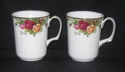 Royal Albert Old Country Roses 3 3/4 Inch Mug Excellent Condition 2 Available
