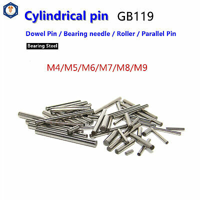 M4 /M5 /M6 /M7 /M8 /M9 Dowel Pins Cylindrical Pins Position Pins Bearing steel