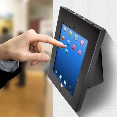 Universal Tamper Proof Anti-Theft Ipad Galaxy Tablet Kiosk Wall Stand Holder New