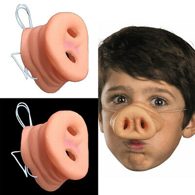funny pig nose mask halloween party fancy dress cosplay costume decor props cute
