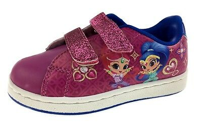 Shimmer and Shine Skate Trainers Glitter Pumps Sneakers Character Shoes Kids