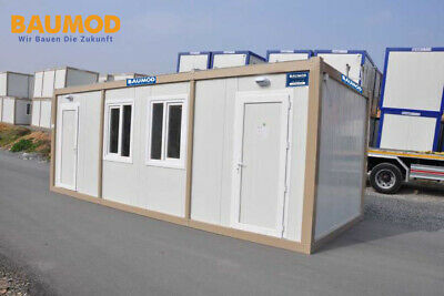 Karmod Bürocontainer Container Baucontainer K2001  3 x 7m inkl. Montage