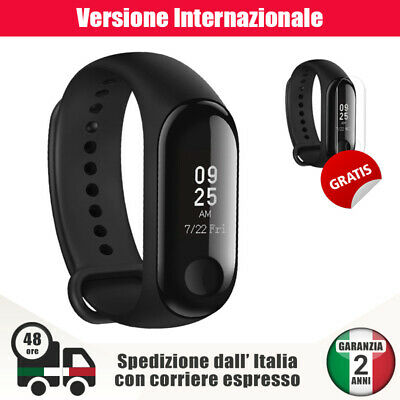 Xiaomi Mi Band 3 Originale Fitness SmartBand Bluetooth Android iOS Touch + Cover