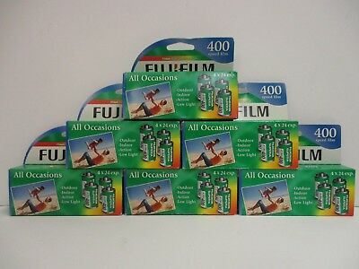 24 ROLLS 35mm FUJIFILM FOR COLOR PRINTS 400 SPEED 24 EXPOSURE EXP 4/16+ NT 2902