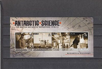 a119 - BRITISH ANTARCTIC TERR - SGMS569 MNH 2011 ANTARCTIC SCIENCE