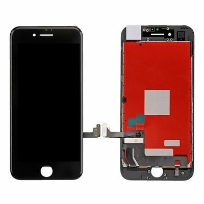 For iPhone 7 LCD Black Replacement Display Touch Screen Assembly + Free Tools