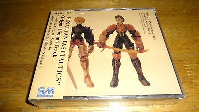 Final Fantasy Tactics - Original Soundtrack Japan Import ** Brand New**