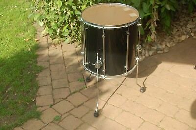 "Sonor Force 2001  - Floor Tom 16"" - schwarz - black - Drum -  Schlagzeug"