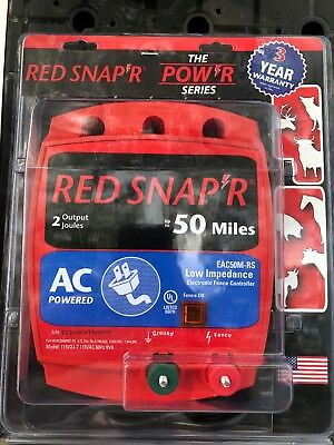 RED SNAP'R EAC50M-RS 50-Mile AC Low Impedance Charger