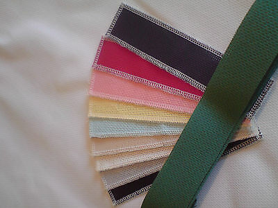 """14 ct Aida 12 x  2.5 x8""""  Book Markers/cards small projects Anchor/DMC threads"""