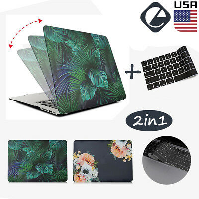 """Rubberized Hard Case Shell Keyboard Cover For MacBook Air Retina Pro 13"""" 15 inch"""