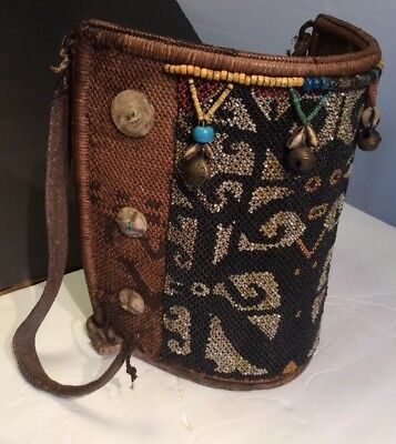 Dayak Baby Carrier Gorgeous Handcrafted Beading By Local Peoples Of Is Of Borneo